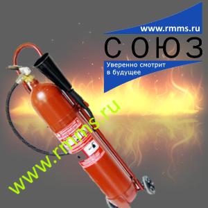 Передвижные углекислотные огнетушители